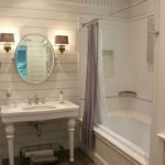 50 Awesome Modern Farmhouse Bathroom Remodel Ideas (5)