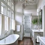 50 Awesome Modern Farmhouse Bathroom Remodel Ideas (50)