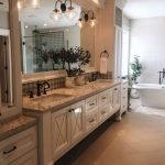 50 Awesome Modern Farmhouse Bathroom Remodel Ideas (7)