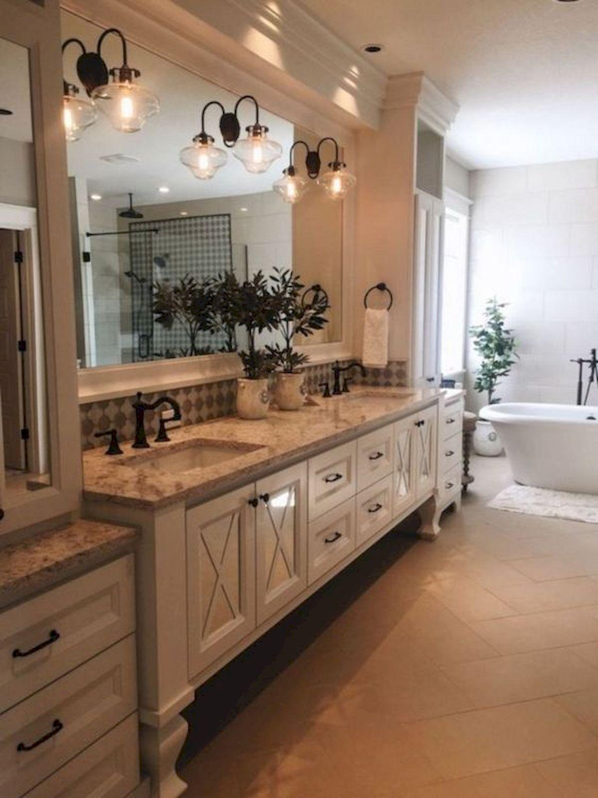 50 Awesome Modern Farmhouse Bathroom Remodel Ideas (7 ...