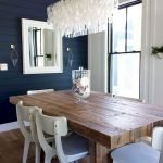 80 Elegant Modern Dining Room Design And Decor Ideas (14)