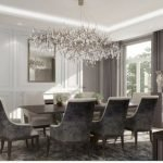 80 Elegant Modern Dining Room Design And Decor Ideas (16)