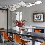 80 Elegant Modern Dining Room Design And Decor Ideas (30)