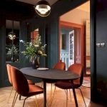 80 Elegant Modern Dining Room Design And Decor Ideas (36)