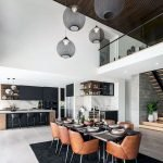 80 Elegant Modern Dining Room Design And Decor Ideas (39)