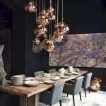 80 Elegant Modern Dining Room Design And Decor Ideas (49)
