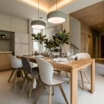 80 Elegant Modern Dining Room Design And Decor Ideas (5)