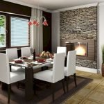 80 Elegant Modern Dining Room Design And Decor Ideas (52)