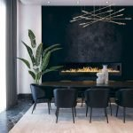 80 Elegant Modern Dining Room Design And Decor Ideas (54)