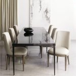80 Elegant Modern Dining Room Design And Decor Ideas (73)