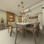80 Elegant Modern Dining Room Design And Decor Ideas (74)
