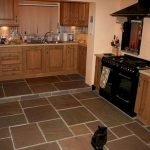 30 Best Kitchen Floor Tile Design Ideas With Concrete Floor Ideas (12)