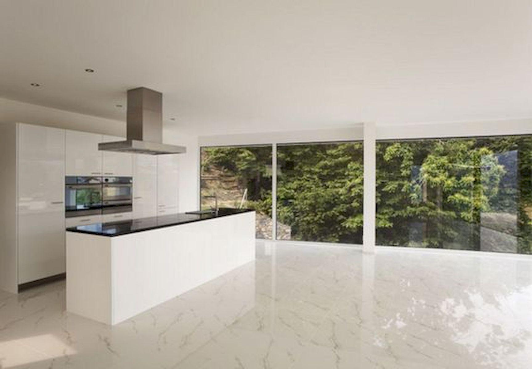 30 Best Kitchen Floor Tile Design Ideas With Concrete Floor Ideas (16)