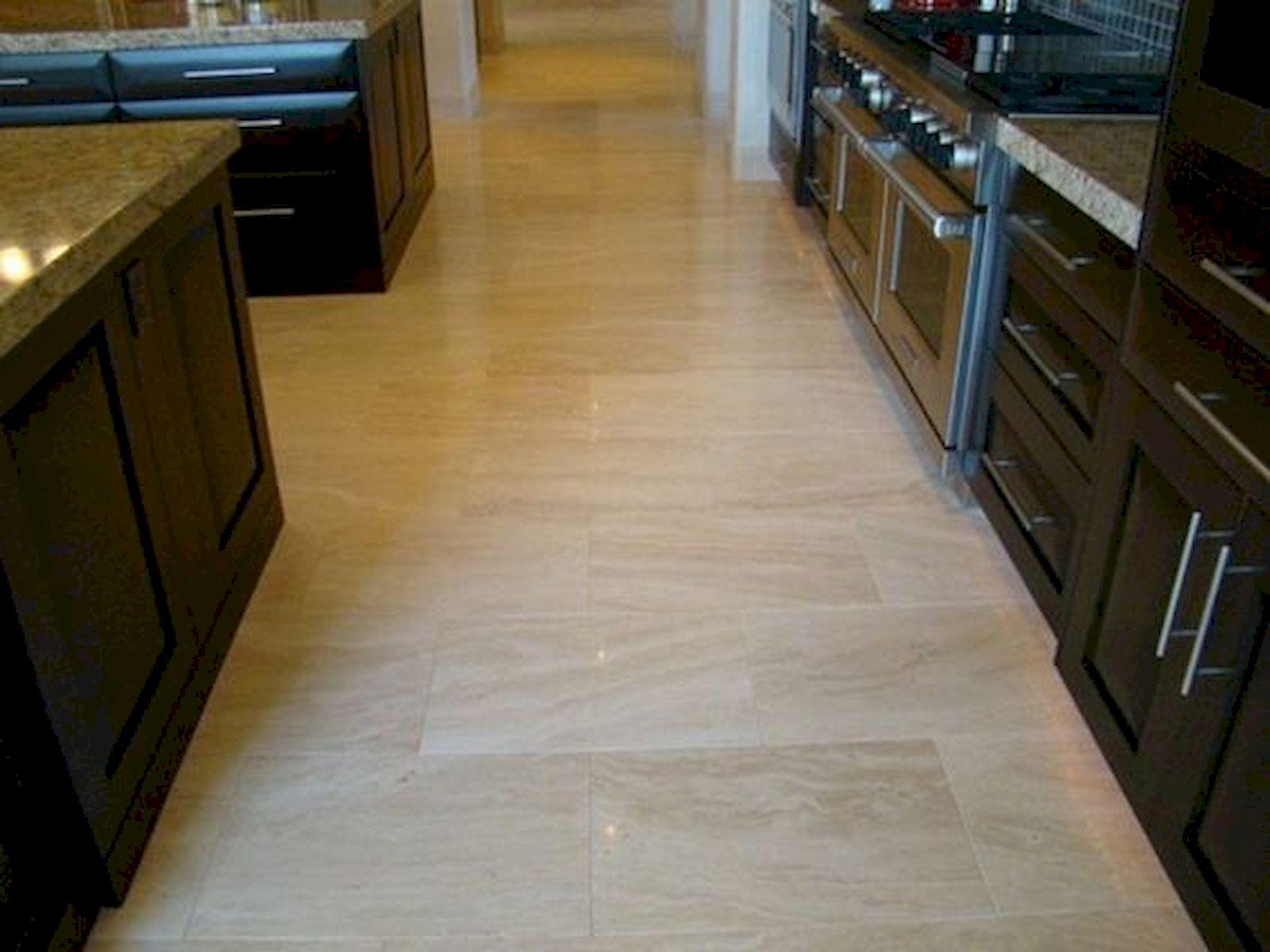 30 Best Kitchen Floor Tile Design Ideas With Concrete Floor Ideas (18)