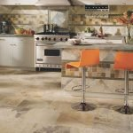 30 Best Kitchen Floor Tile Design Ideas With Concrete Floor Ideas (23)