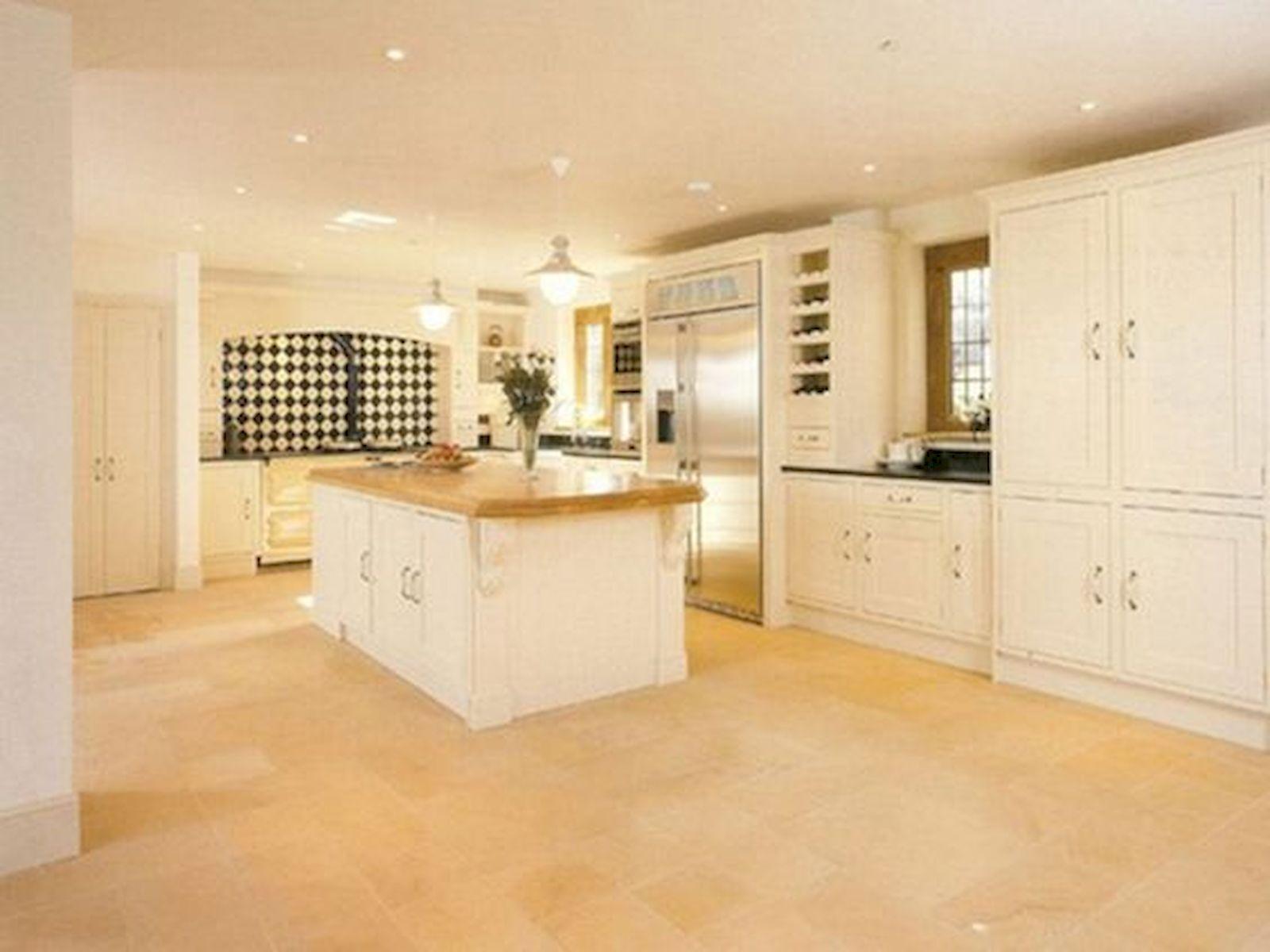30 Best Kitchen Floor Tile Design Ideas With Concrete Floor Ideas (29)