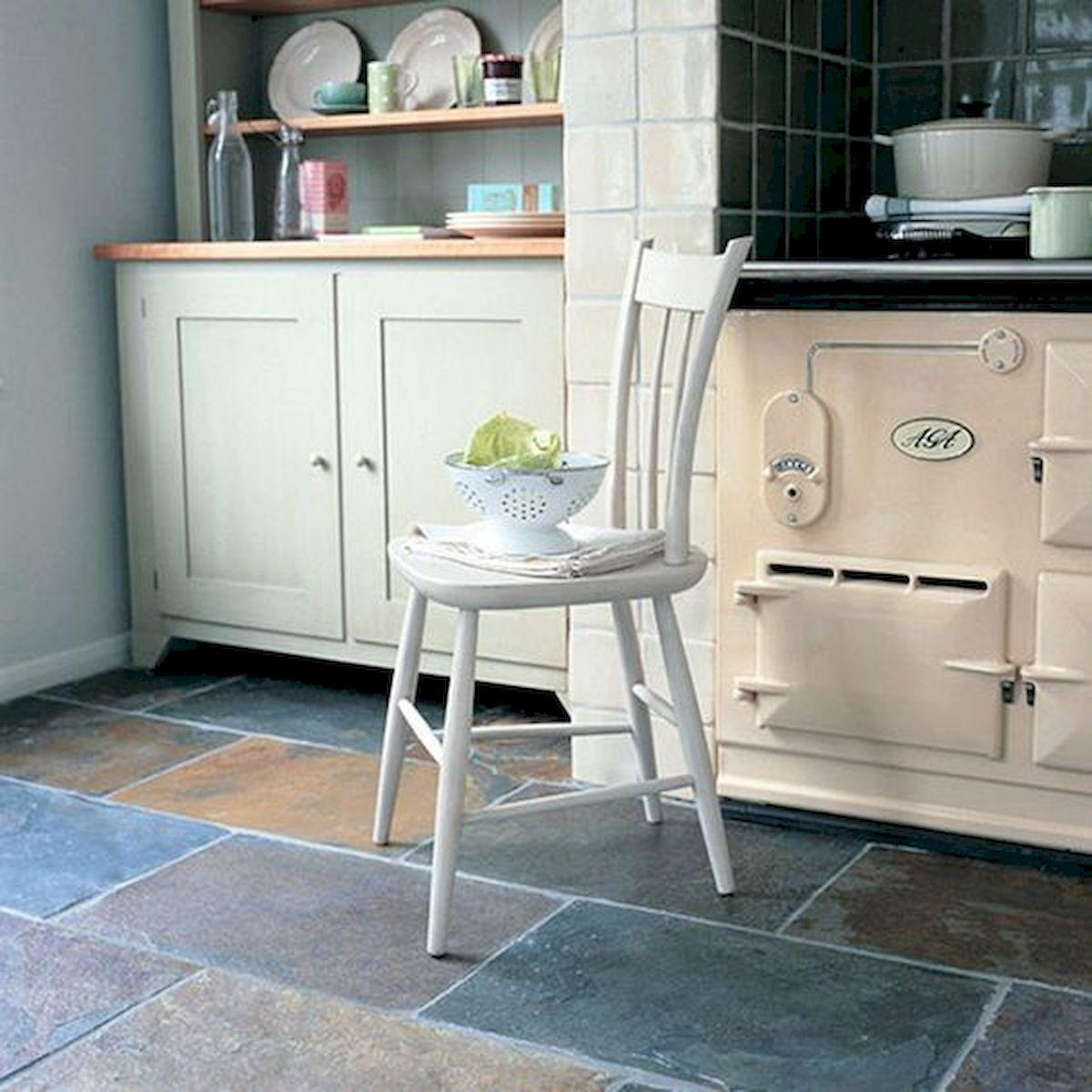 30 Best Kitchen Floor Tile Design Ideas With Concrete Floor Ideas (30)