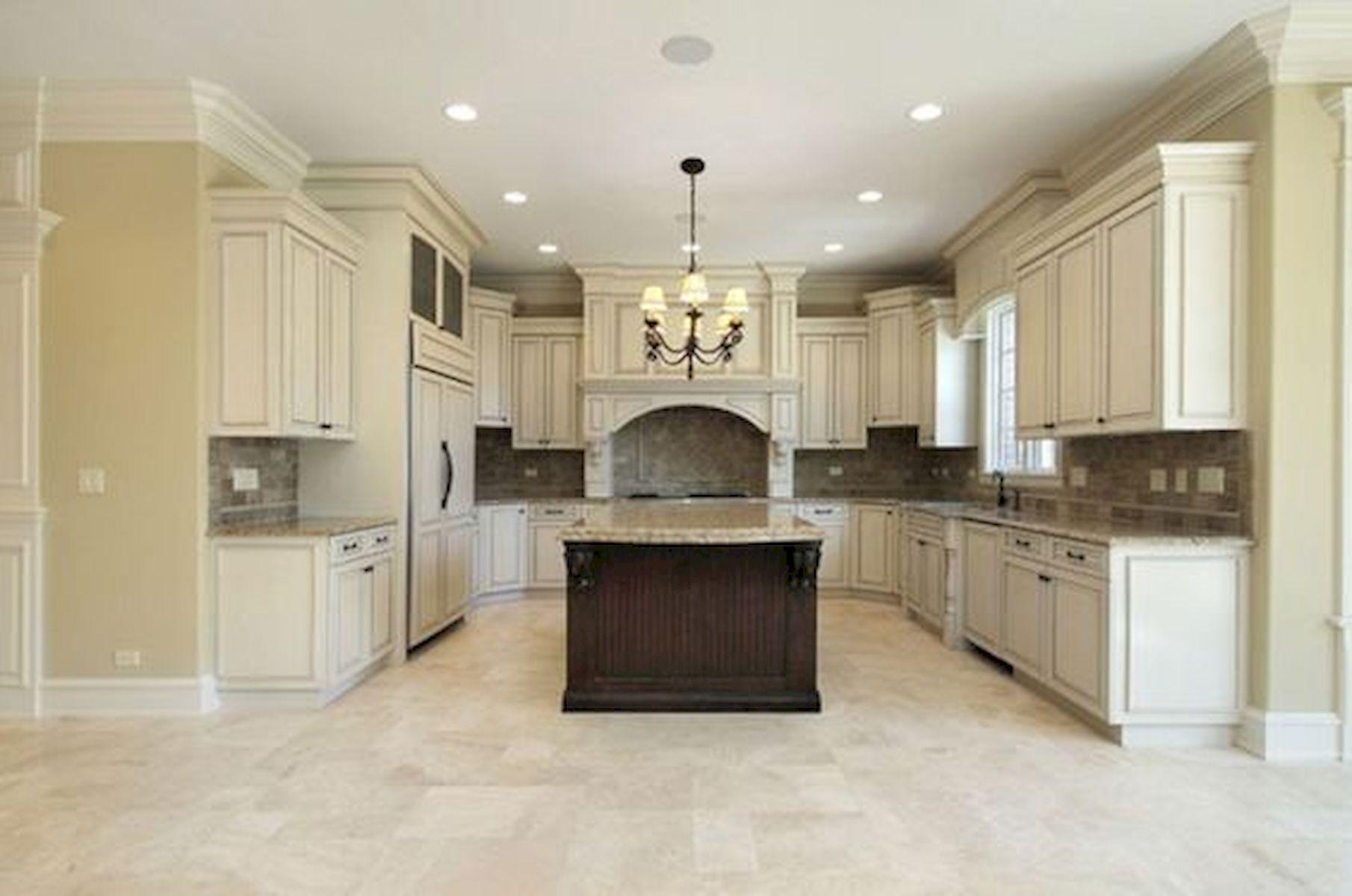 30 Best Kitchen Floor Tile Design Ideas With Concrete Floor Ideas (7)