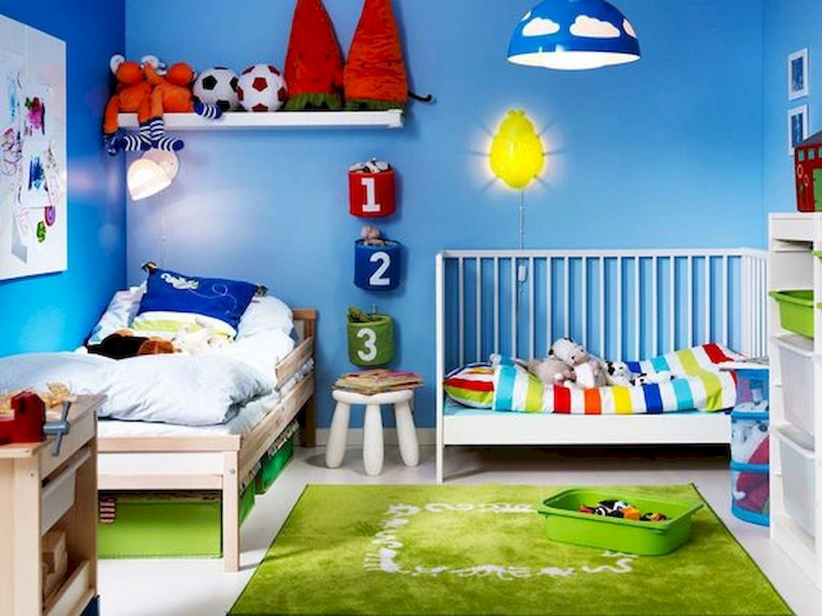 30 Creative Kids Bedroom Design and Decor Ideas That Make Your Children Comfortable (1)