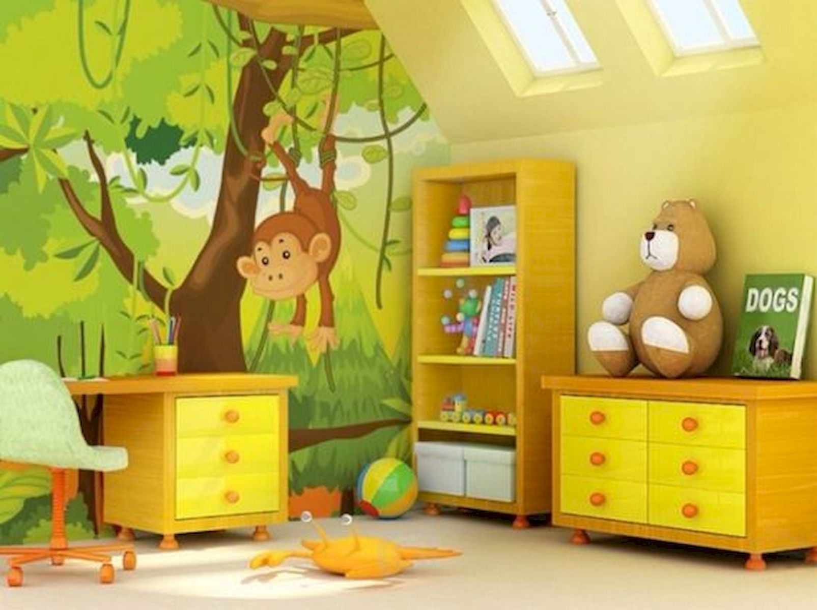 30 Creative Kids Bedroom Design And Decor Ideas That Make Your Children Comfortable (2)