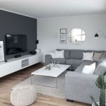 40 Beautiful Minimalist Living Room Decoration Ideas For Your Apartment (23)
