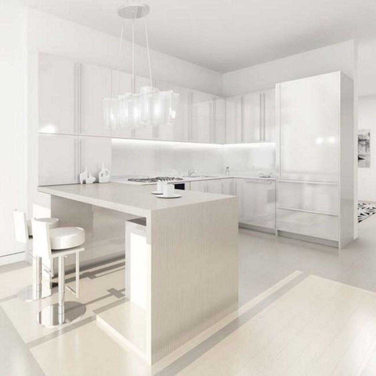 40 Elegant White Kitchen Design and Decor Ideas (1)