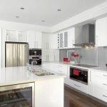 40 Elegant White Kitchen Design and Decor Ideas (10)