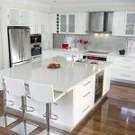 40 Elegant White Kitchen Design and Decor Ideas (35)