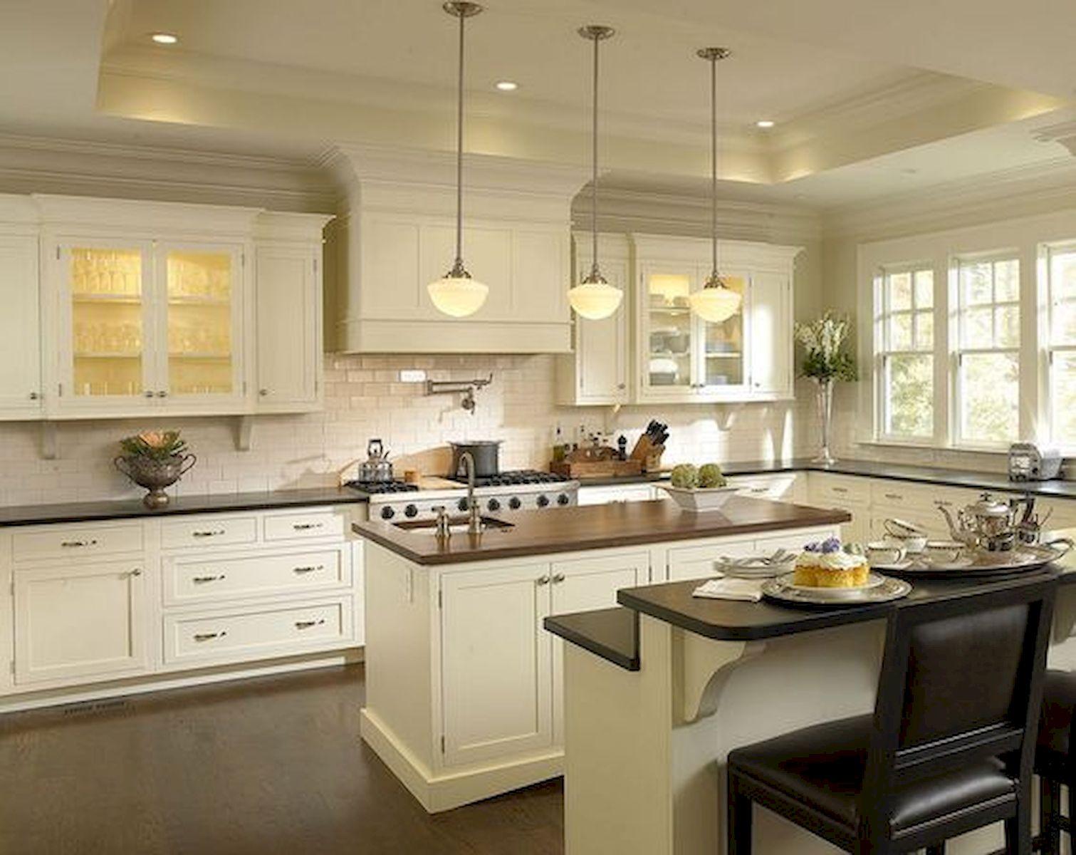40 Elegant White Kitchen Design And Decor Ideas 7