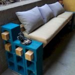 40 Fantastic Outdoor Bench Ideas For Backyard and Front Yard Garden (10)