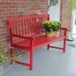 40 Fantastic Outdoor Bench Ideas For Backyard and Front Yard Garden (13)