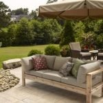 40 Fantastic Outdoor Bench Ideas For Backyard and Front Yard Garden (17)