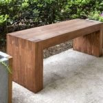 40 Fantastic Outdoor Bench Ideas For Backyard and Front Yard Garden (30)