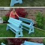 40 Fantastic Outdoor Bench Ideas For Backyard and Front Yard Garden (6)