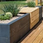 40 Fantastic Outdoor Bench Ideas For Backyard and Front Yard Garden (7)
