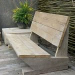 40 Fantastic Outdoor Bench Ideas For Backyard and Front Yard Garden (8)