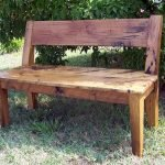 40 Fantastic Outdoor Bench Ideas For Backyard and Front Yard Garden (9)