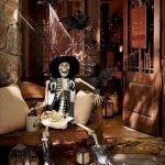 40 Stunning Halloween Indoor Decoration Ideas (25)