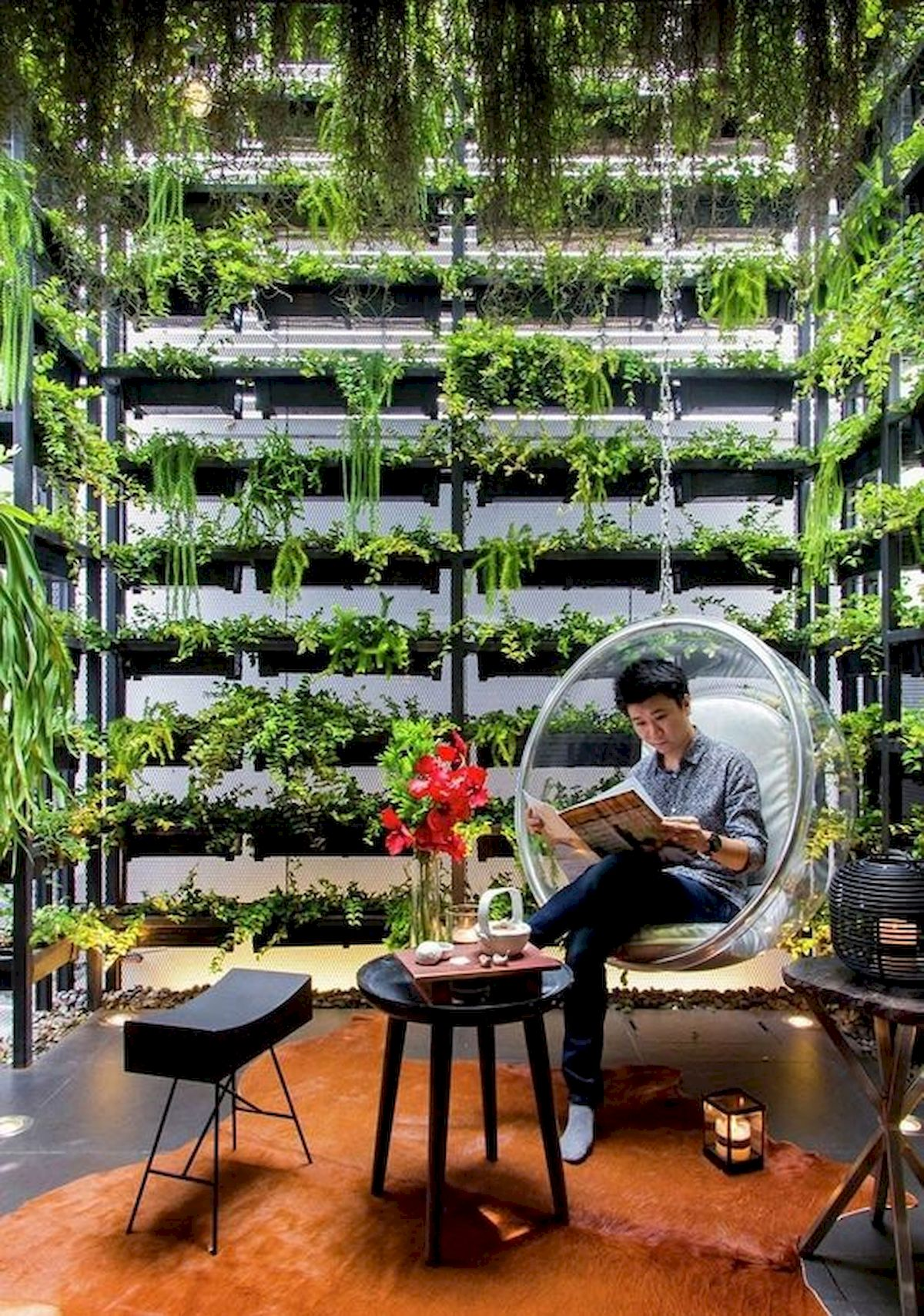 44 Fantastic Vertical Garden Ideas To Make Your Home Beautiful (9)