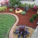 48 Stunning Front Yard Landscaping Ideas That Make Beautiful Garden (10)