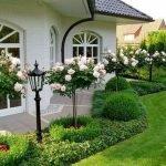 48 Stunning Front Yard Landscaping Ideas That Make Beautiful Garden (23)