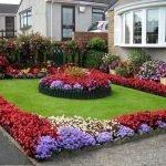 48 Stunning Front Yard Landscaping Ideas That Make Beautiful Garden (27)