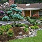 48 Stunning Front Yard Landscaping Ideas That Make Beautiful Garden (7)