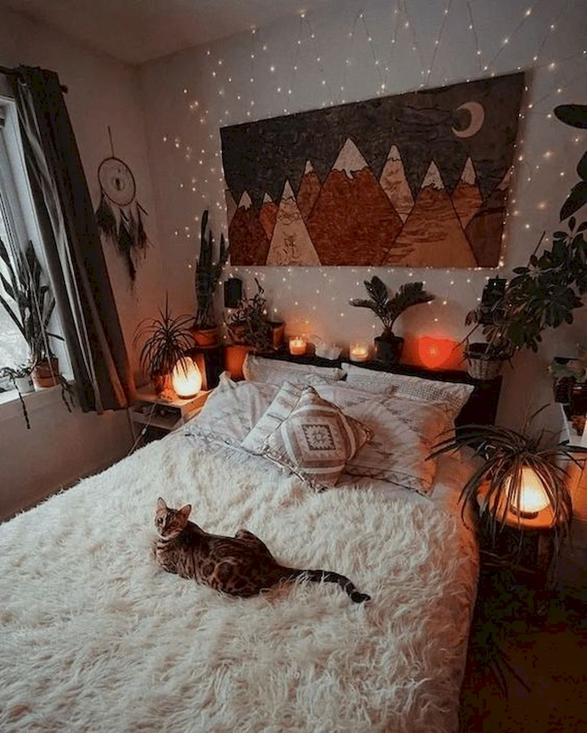 30 Cozy Fall Decoration Ideas For Your Bedroom (1)