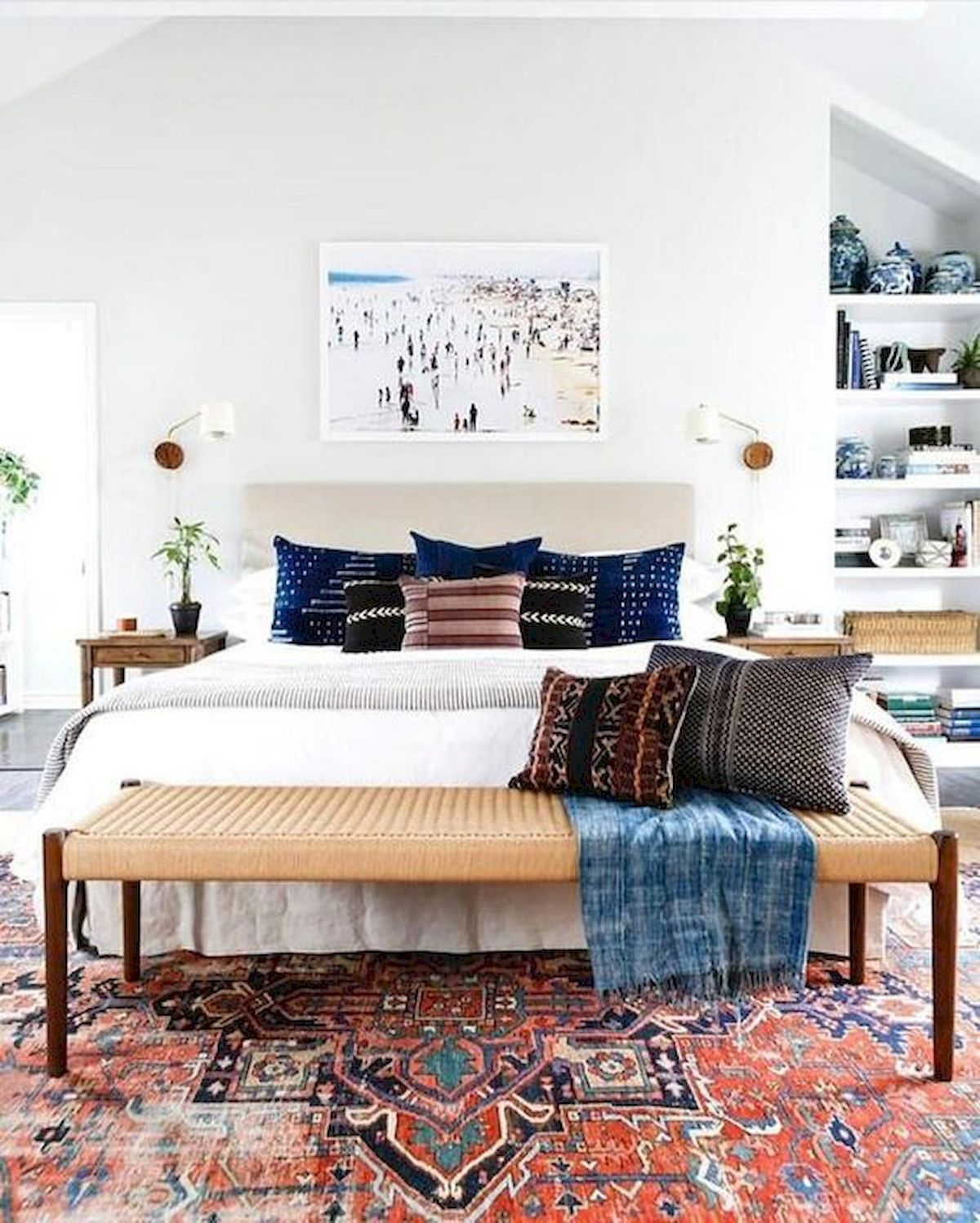 30 Cozy Fall Decoration Ideas For Your Bedroom (3)