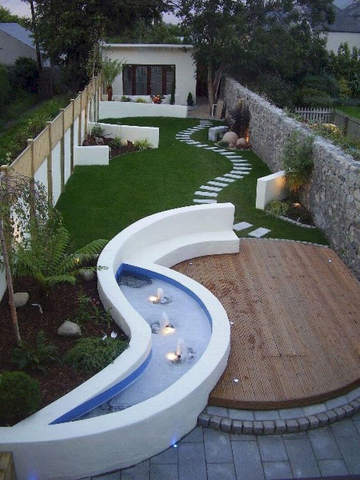 40 Fabulous Modern Garden Designs Ideas For Front Yard and Backyard (20)