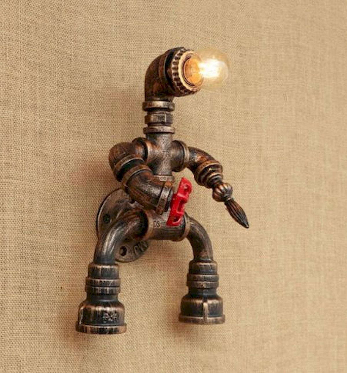 40 Fantastic DIY Lamps Decoration Ideas for Your Home (11)