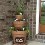 20 Awesome Planter Ideas for Your Front Porch (11)