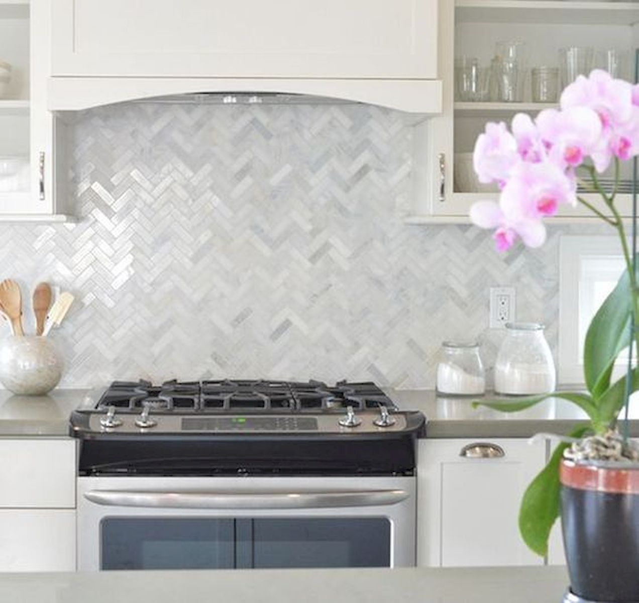 25 Fabulous Quartz Backsplash Kitchen Ideas (1)