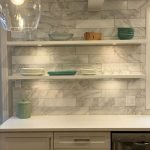 25 Fabulous Quartz Backsplash Kitchen Ideas (10)